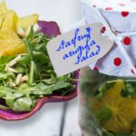 Set ajar - starfruit arugula salad