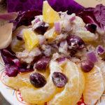 Spicy tuna and Uniq Fruit salad