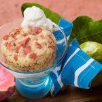 Guava mug cake