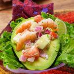 2- way SlimCado seafood salad