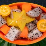 O Solo mio or trio fruit salad