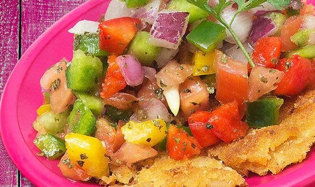 Yuca Tortilla Salad