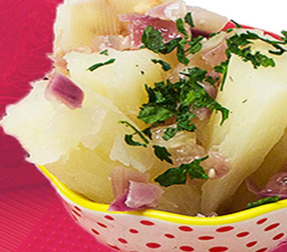 boiled yuca