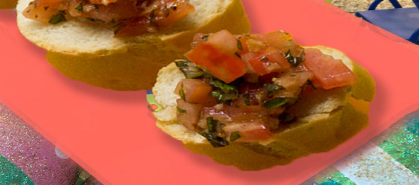 Ginger's bruschetta