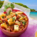 Caribbean eddo chili