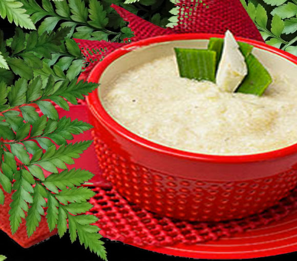 Yuca soup