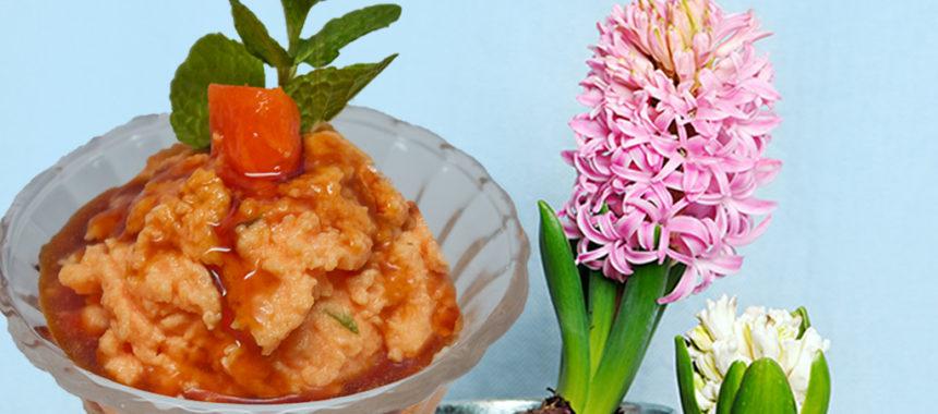 Caribbean cream gelatin