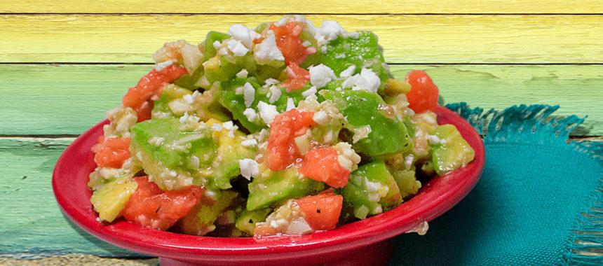 Caribbean coco SlimCado salad