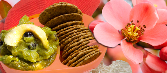 Fruity SlimCado guacamole