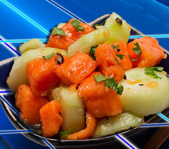 papaya cucumber salad