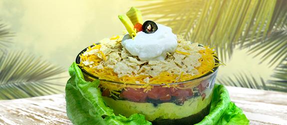Taco guaco salad