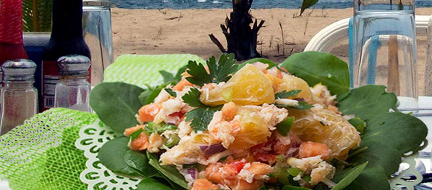 Uniq Fruit crab salad