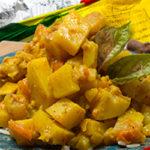 Nepali Ishkus Curry (chayote curry)