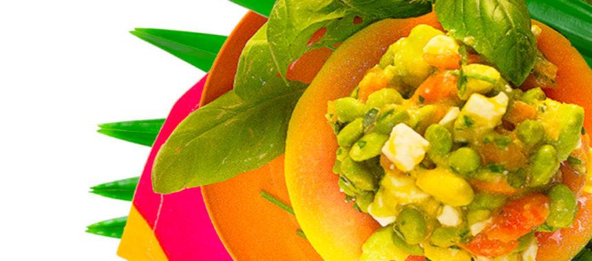 Tropical gazpacho