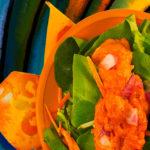 Mamey salad dressing