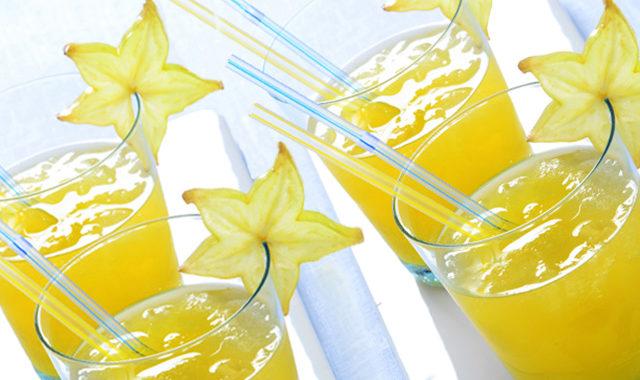 Starfruit juice drink