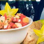 Starfruit salsa