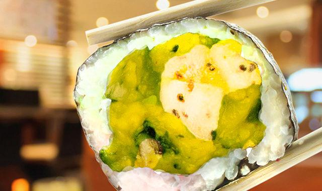 SlimCado sushi roll