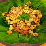 Chunky Caribbean salad