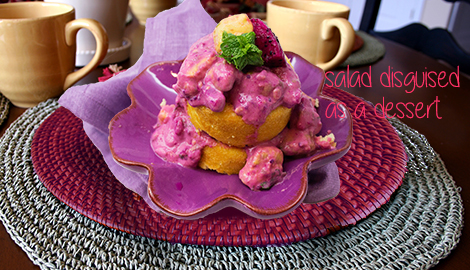 dragonfruit salad or dessert