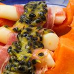 Papaya gondolier