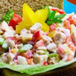 Starfruit Chicken Salad