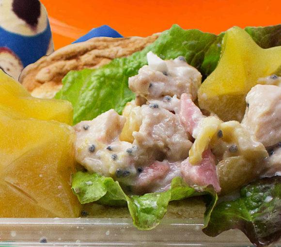 Tropical chicken salad