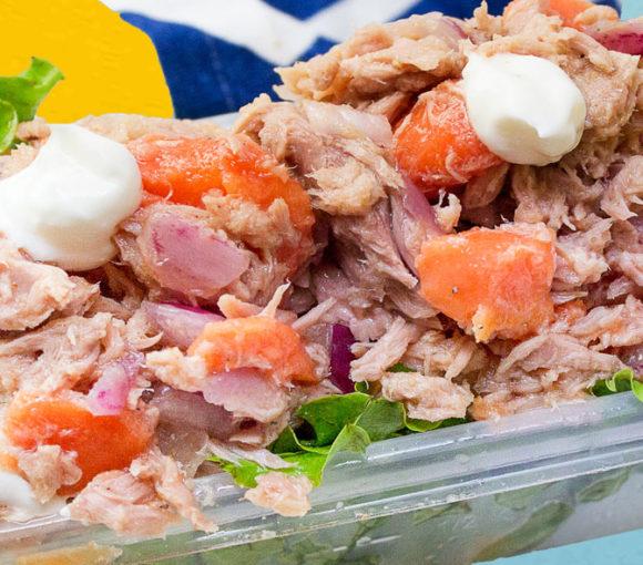 Tuna wrap tropicale