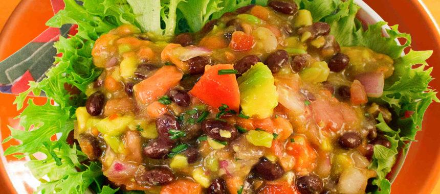Vaquero tropical salad