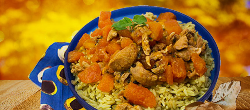 The Caribbean pilgrim's dish