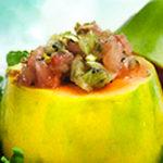 Solo Kiwi Tomato Salad