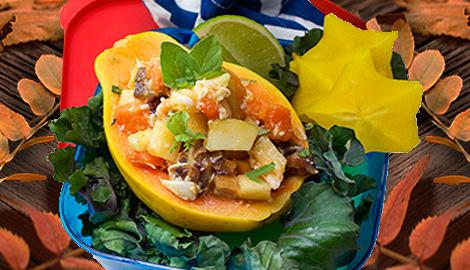 Caribbean date salad