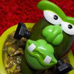 Frankenstein Slimcado Salad
