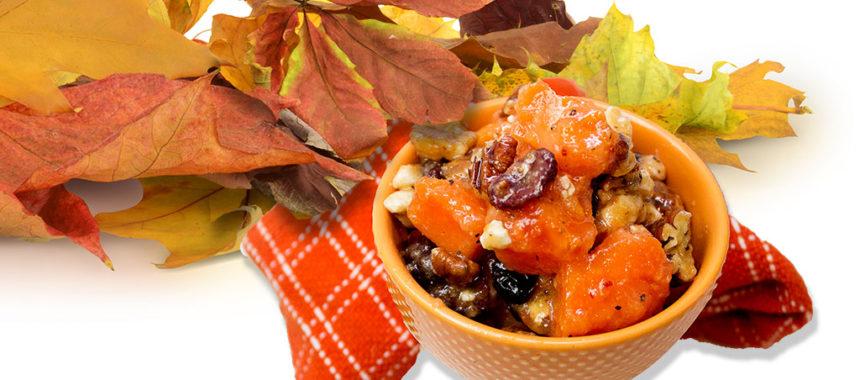 Fall's harvest salad