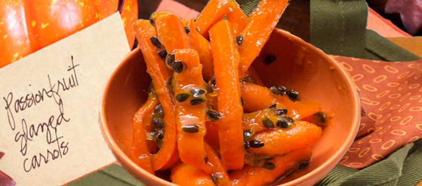 Passionfruited carrots