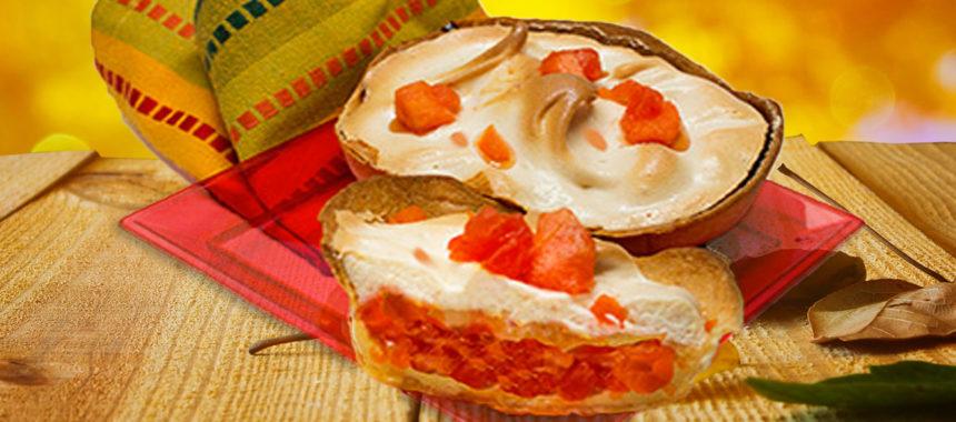 Caribbean Papaya Panama Pie
