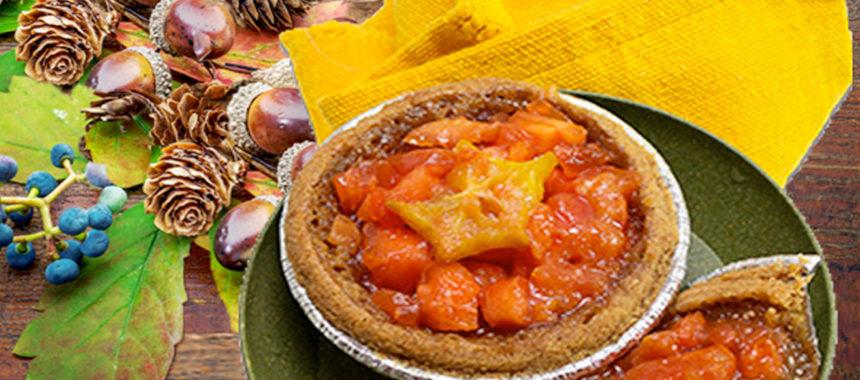 Caribbean Red Papaya Pie Tarts