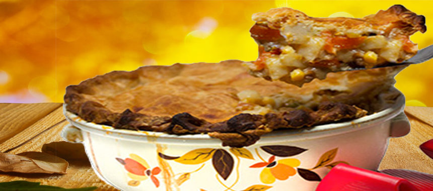 Turkey papaya pot pie