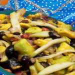 Papaya and SlimCado Floribbean Salad