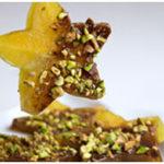 Chocolate Pistachio Stars
