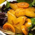 Balsamic starfruit dressing